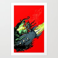 Ode To Joy - Color Art Print