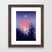 venus evening star. Framed Art Print