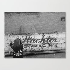 Picturing Big Canvas Print