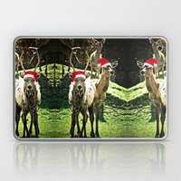 Tis The Season - Reindeer Laptop & iPad Skin
