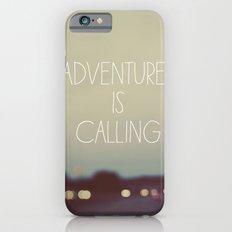 Adventure is Calling Slim Case iPhone 6s