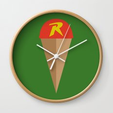 Robin's Road Wall Clock