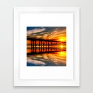 From The Earth To The Sk… Framed Art Print