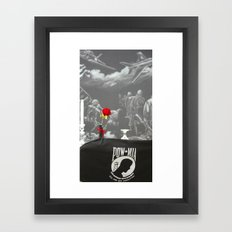 pow/mia Framed Art Print