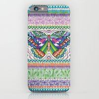 iPhone & iPod Case featuring Tribal Butterfly by Janet Broxon