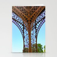 eiffel Stationery Cards featuring Eiffel by Camille Renee