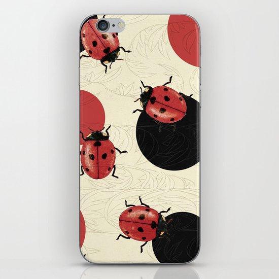 Ladybird Polka iPhone & iPod Skin