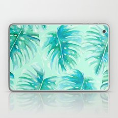 Paradise Palms Mint Laptop & iPad Skin