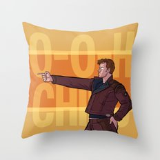 Dance Off Bro Throw Pillow