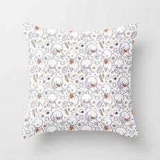 Heart Kids Pattern Throw Pillow
