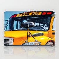 School Bus iPad Case