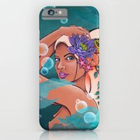 iPhone & iPod Case featuring Nereid Thaleia by CSNSArt