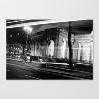 I Wish I May [Black & Wh… Canvas Print