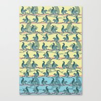 Squirrels! Canvas Print
