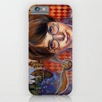 Harry's First Quidditch Match iPhone 6 Slim Case