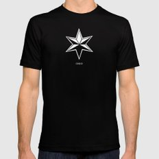 CHGO Mens Fitted Tee Black SMALL