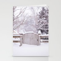 Snow Gate  Stationery Cards