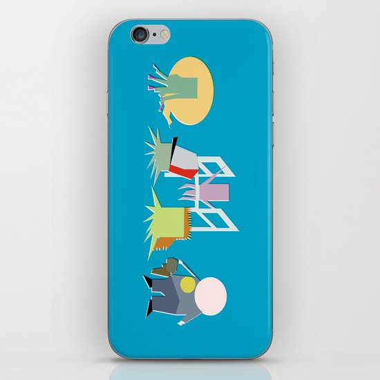 Minimal Squidbillies iPhone & iPod Skin