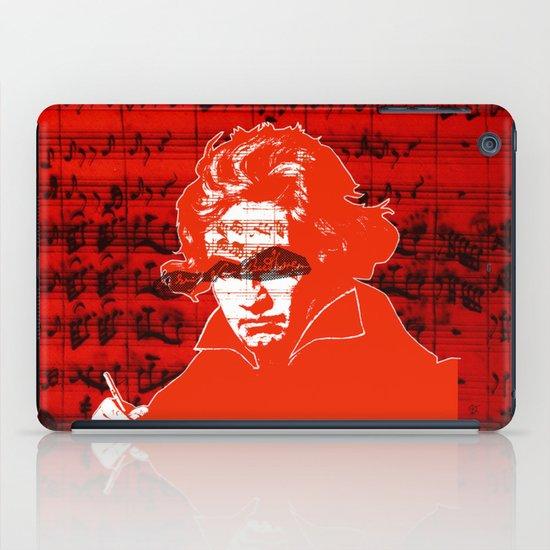 Ludwig van Beethoven · red10 iPad Case