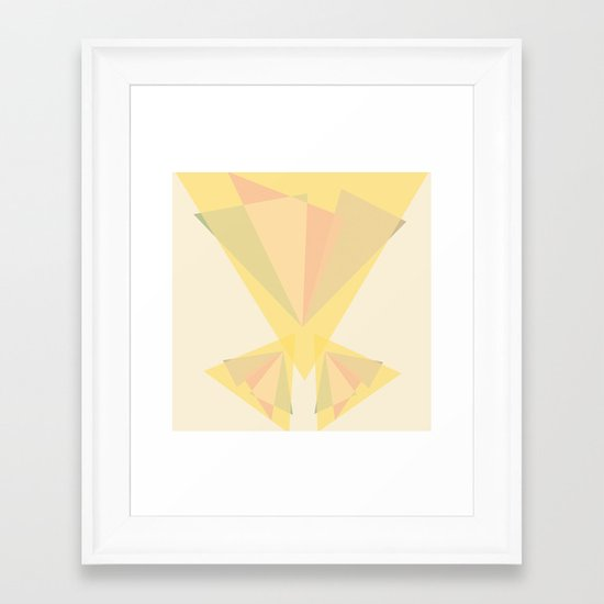 centro Framed Art Print