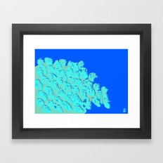 what ́s going on Framed Art Print