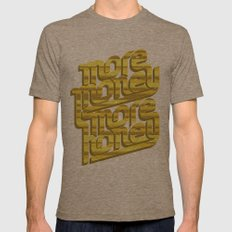 More Money, More Honey Mens Fitted Tee Tri-Coffee SMALL