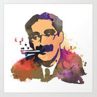 GrouchoMARX Art Print