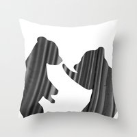 Cubs (The Living Things Series) Throw Pillow