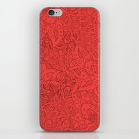 Lucy Flowers iPhone & iPod Skin