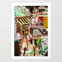 Candied Land Art Print