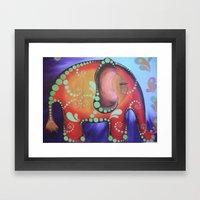 Elephanty Framed Art Print