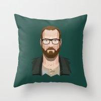 Goodbye, Walt Throw Pillow