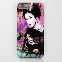 iPhone & iPod Case featuring Geisha by Zoé Rikardo