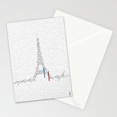 Eiffel Tower | Paris, France | Esperantos | StoryScape #1 Stationery Cards
