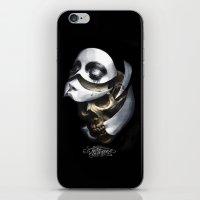 mascara iPhone & iPod Skin