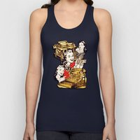 Quirky Office Gals Unisex Tank Top