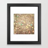Sparkle On Sparkle Framed Art Print
