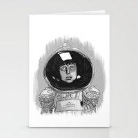 Ellen Ripley Alien Stationery Cards