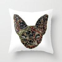 Geometry Sphynx Throw Pillow