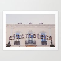 Cinemateca Art Print