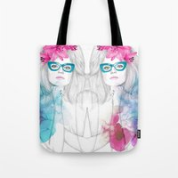 Glasses Tote Bag