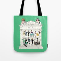 Fashion House Tote Bag