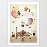 Exorcism, But Cute. Art Print