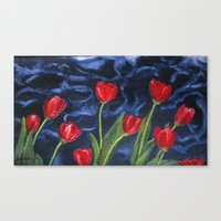 Tulips Are Red... Canvas Print