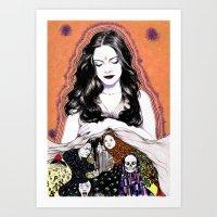 INSPIRATION - Muse Art Print