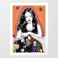INSPIRATION - Muse Art Print