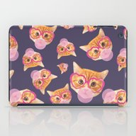 Bubblegum Cat iPad Case