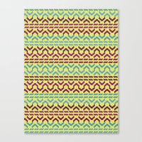 AZTEC Pattern 1-2 Canvas Print