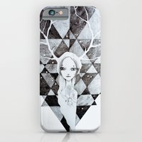 iPhone & iPod Case featuring tystnaden by mloyan