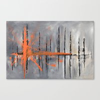 Levels -  (from Original… Canvas Print